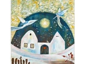 Tvorimesrdcem fengshui obrazy Ireny Kovarove Dum kde bydli laska zima
